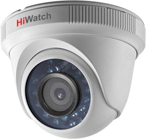 DS-T283 - 2MP мультиформатная (HD-TVI AHD CVI CVBS) уличная купольная камера с фиксированным объективом и