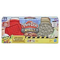 Набор массы для лепки Play-Doh Wheels - Кирпич и камень