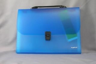 Папка портфель silwerhof голубой