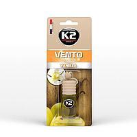"""Ароматизатор K2 """"VENTO"""" флакон с деревянной крышкой (ваниль)"""