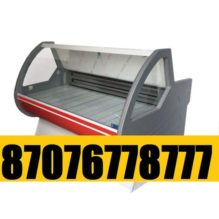 Витринный холодильник Холодильная витрина Мерей  1,8м  0+5С