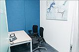 Стеновые акустические панели, шумоподавляющие панели, панели в переговорные комнаты, фото 4