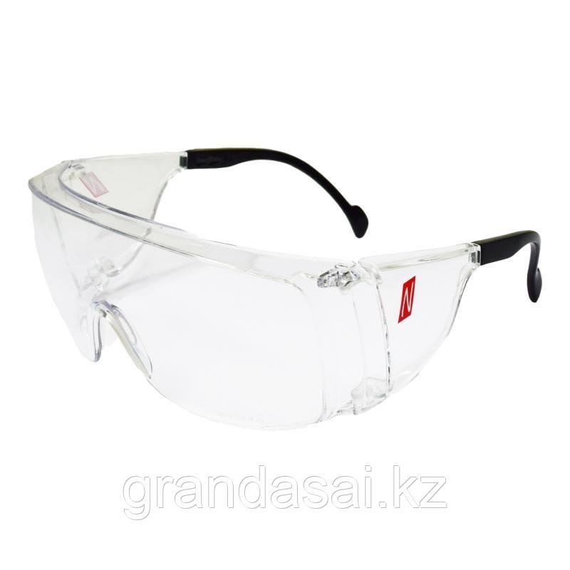 Очки прозрачные защитные NITRAS VISION PROTECT OTG