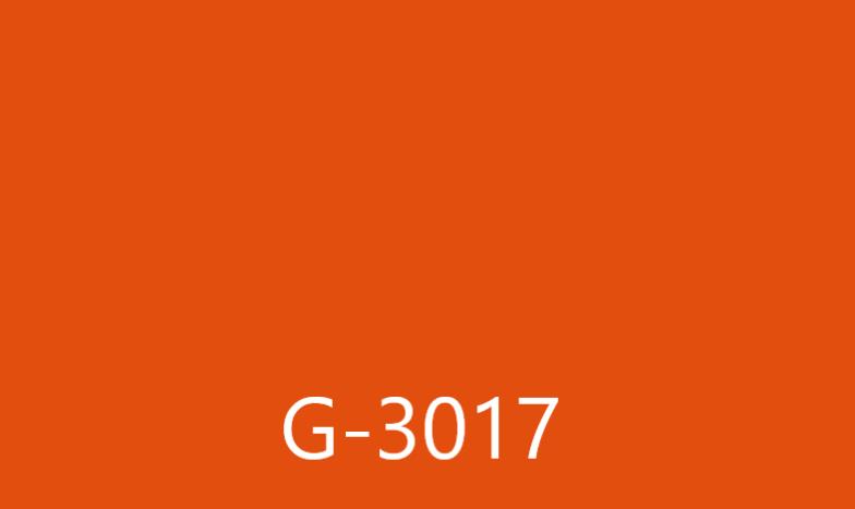 Виниловая пленка ОРАКАЛ  Оранжевый цвет G3017