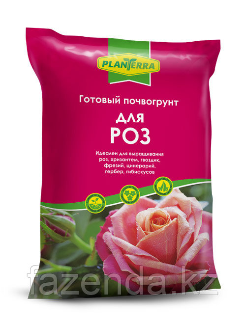 PlanTerra - для роз, 2,5л, почвогрунт