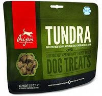 Сублимированное лакомство для собак всех пород Orijen Tundra Dog treats форель, лось, перепел
