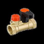 Клапаны запорные типа MSV-S со спускным краном