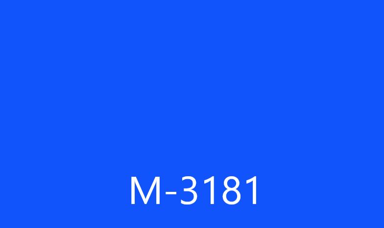 Виниловая пленка ОРАКАЛ  Синий цвет М3181