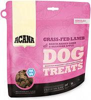Лакомство для собак всех пород Acana Grass-Fed Lamb Dog treats ягненок, яблоко