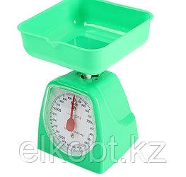 Весы кухонные LuazON LVKM-501, до 5 кг, шаг 40 г, чаша 1200 мл, пластик,