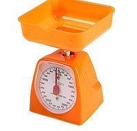 Весы кухонные LuazON LVKM-501, до 5 кг, шаг 40 г, чаша 1200 мл, пластик,, фото 2