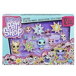 """Hasbro Littlest Pet Shop Игровой набор """"12 счастливых петов"""" E5161"""