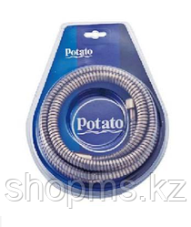 Шланг для душа импорт-импорт Potato P54-15Q 1.5м бронза