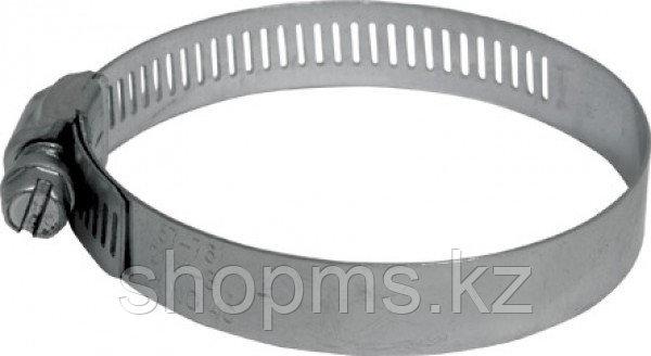 Хомут обжимной просечной, ширина 12,7 мм, нерж.сталь 165-203 мм, фото 2
