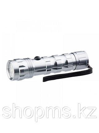 Фонарик светодиодный, алюминиевый корпус, влагозащищённый, 12 Led, 3хААА, Stern, фото 2