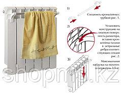 Сушка для полотенец на радиатор 570мм х 16мм Тера