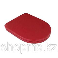 Сиденье для унитаза AMALFI Soft close красное №4296