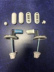 Комплект крепления с микролифтом Amalfi металл - синие капсулы