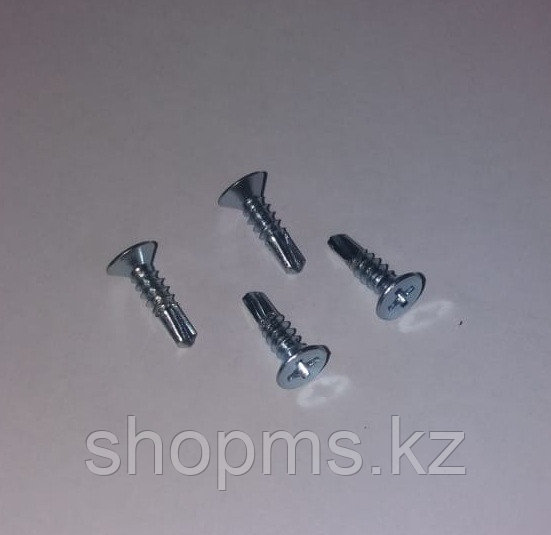 Винт самонарезающий №056 (4*16) Металл со сверлом