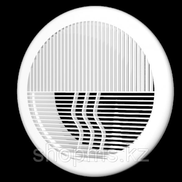 Решетка круглая ЭРА 12РКФ ПС фланец D120 (D165)