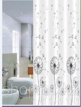 Шторка для ванной комнаты 180 х 180 (ЕСО ткань) Одуванчик