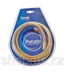 Шланг для душа импорт-импорт Potato P54-15J 1.5м золото