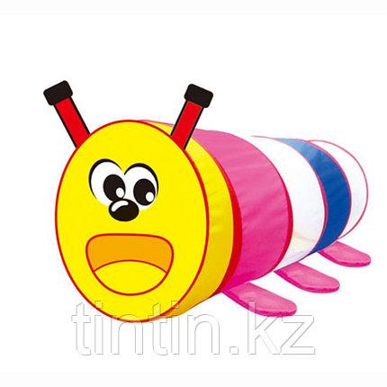 """Детский игровой тоннель """"Гусеница"""" 45х45х105 см, фото 2"""