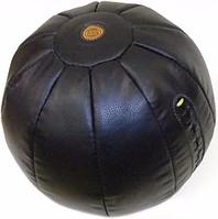 Мяч для кроссфита Медбол кожаный 3кг