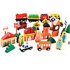 Деревянный городок - Сity traffic building block, фото 6