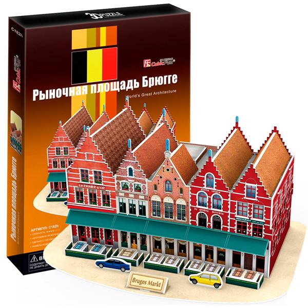 Рыночная площадь Брюгге (Бельгия)