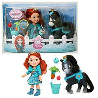 Кукла Принцессы Дисней Малышка15 см, с конем, фото 1