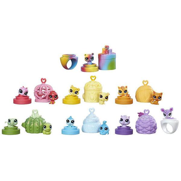 Игрушка Hasbro LPS радужная колллекция 12 крошечных радужных петов