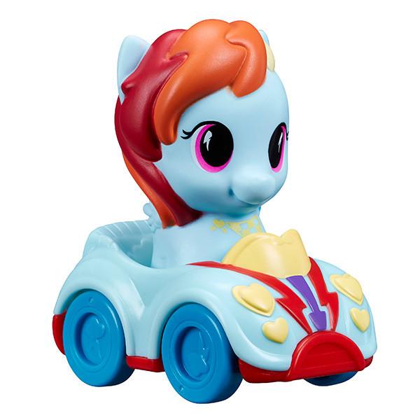 Игровой набор MLP пони и автомобиль