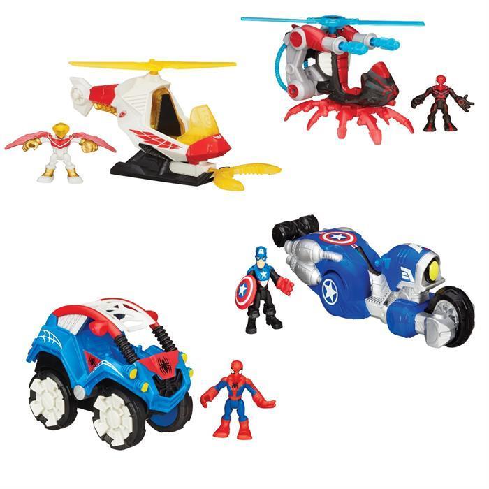 Игровой набор Hasbro Playskool Heroes Марвел фигурка и транспортное средлство