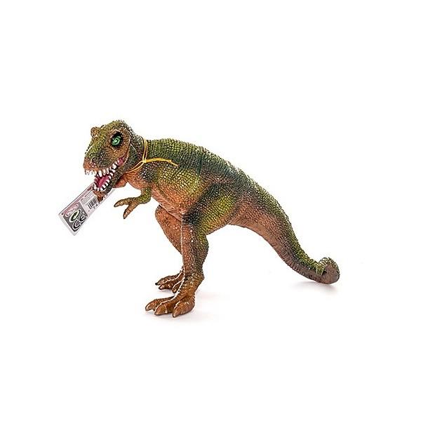 Игрушка фигурка динозавра, Тираннозавр  с двигающейся пастью в асс 7*11*19 см