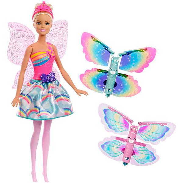 Игрушка Barbie Фея с летающими крыльями в асс.