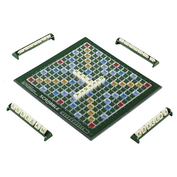 Игрушка MATTEL Games Scrabble Travel Refresh