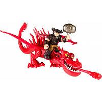 Игрушка Dragons Набор дракон и всадник (Кривоклык)