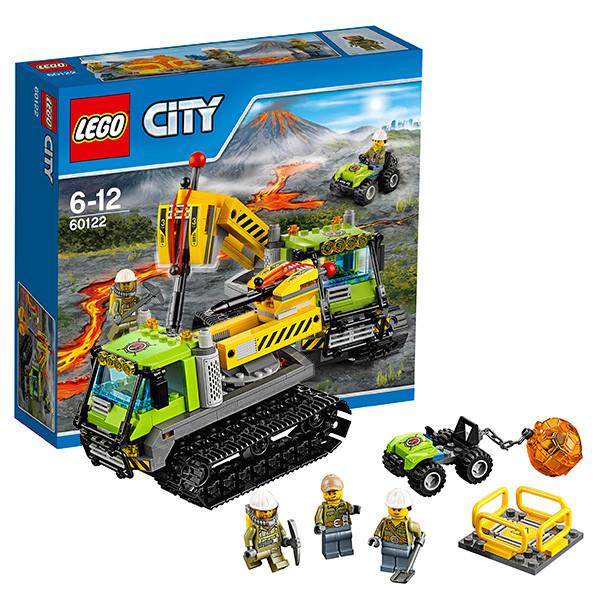 Игрушка Lego City (Лего Город) Вездеход исследователей вулканов