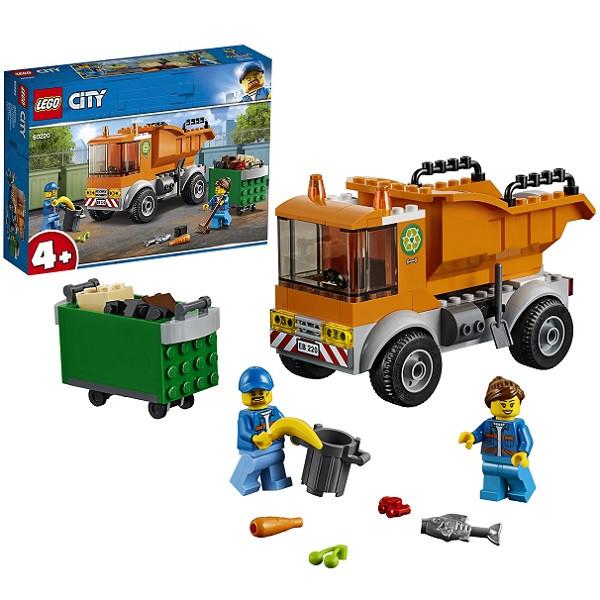 Игрушка Lego City (Лего Город) Транспорт: Мусоровоз