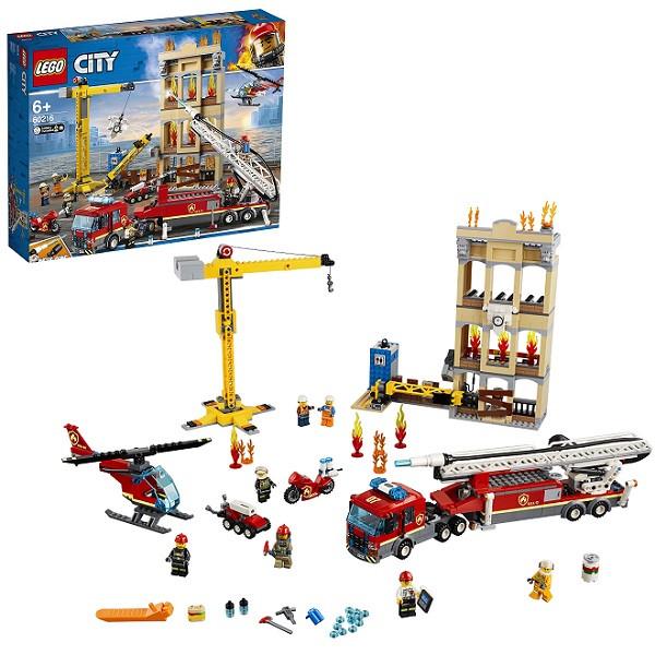 Игрушка Lego City (Лего Город) Пожарные: Центральная пожарная станция