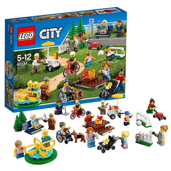 Игрушка Lego City (Лего Город) Праздник в парке — жители LEGO City