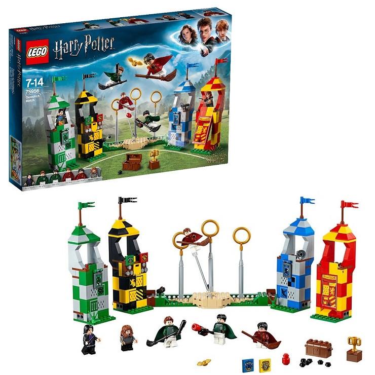 Игрушка Lego Harry Potter (Лего Гарри Поттер) Матч по квиддичу™