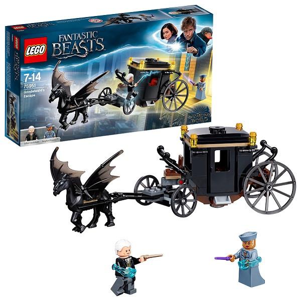 Игрушка Lego Harry Potter (Лего Гарри Поттер) Побег Грин-де-Вальда™