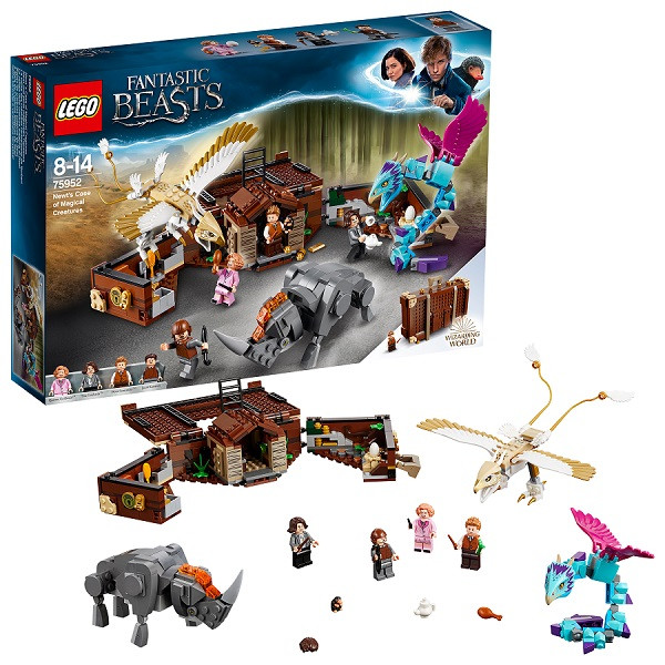 Игрушка Lego Harry Potter (Лего Гарри Поттер) Чемодан Ньюта Саламандера™