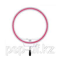 Кольцевой светодиодный осветитель Yongnuo YN-608 RGB LED 3200-5500K цветной (2 аккум. Jupio np-f 750)