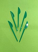 Нож одноразовый 165 мм зеленый