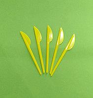 Нож одноразовый 165 мм желтый