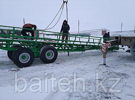 Полуприцеп рулоновоз тракторный ПРТ-12 самозагружающийся, фото 2