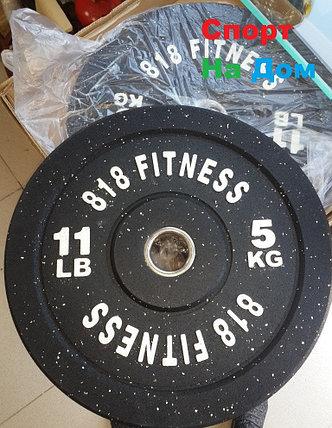 Бамперные блины для Кроссфита вес 5 кг., фото 2